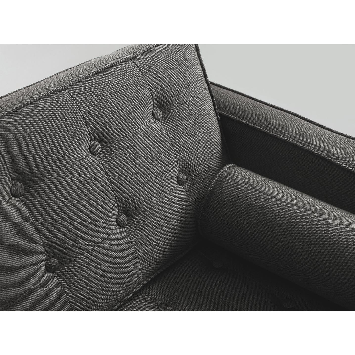 2 Seater Sofa Topic Wood   Steel