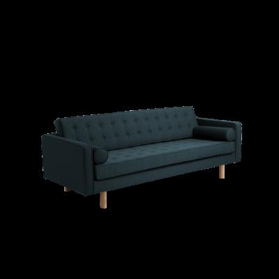 3-Sitzer-Sofa Topic Wood | Deep Sea