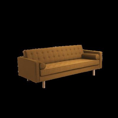 3-Sitzer-Sofa Topic Wood | Honey