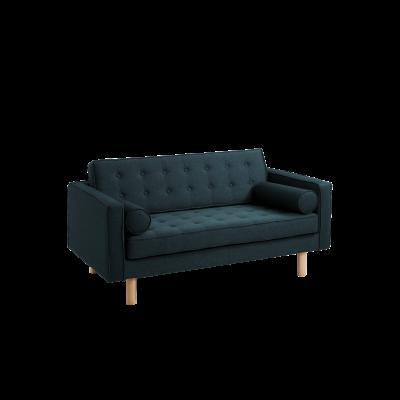 2-Sitzer-Sofa Topic Wood | Deep Sea