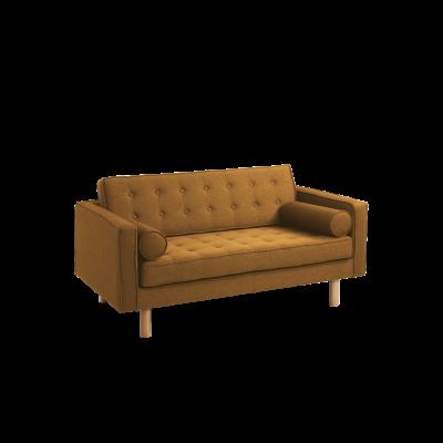2-Sitzer-Sofa Topic Wood | Honey