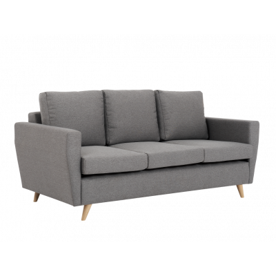 3-Sitzer Sofa Lover | Stahlgrau