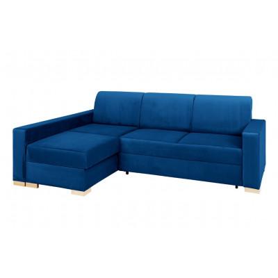 Ecke Sofabett Links Stable | Blau