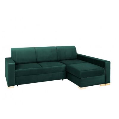 Ecke Sofabett Rechts Stable | Grün