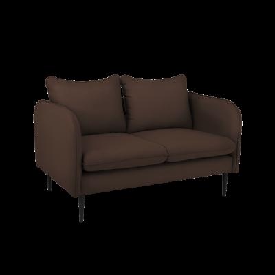 Sofa 2-Sitzer Posh | Braun