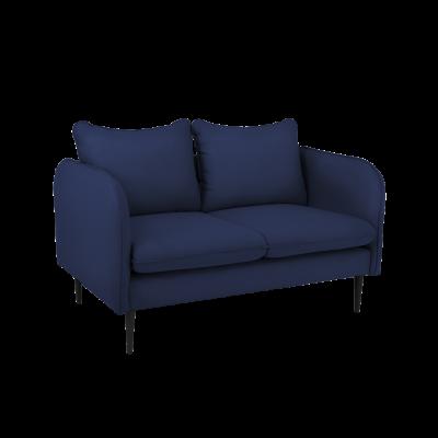 2-Sitzer Sofa Posh | Blau