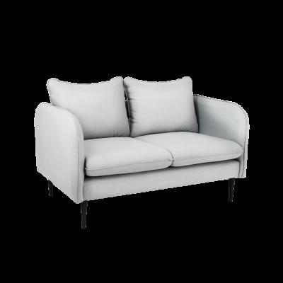 Sofa 2-Sitzer Posh | Platingrau