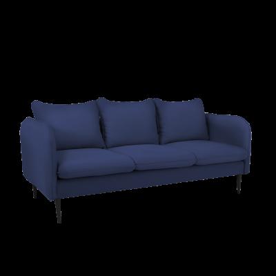Sofa 3-Sitzer Posh | Blau