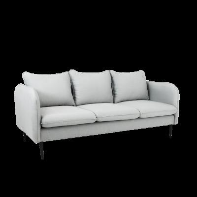 Sofa 3-Sitzer Posh | Platingrau