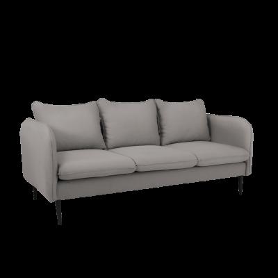 Sofa 3-Sitzer Posh | Stahl Grau