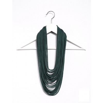Basic Lace Scarf | Dark Green