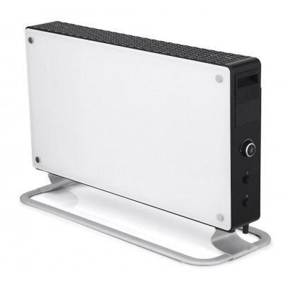 Convection Heater 2000W + LED | Glass White