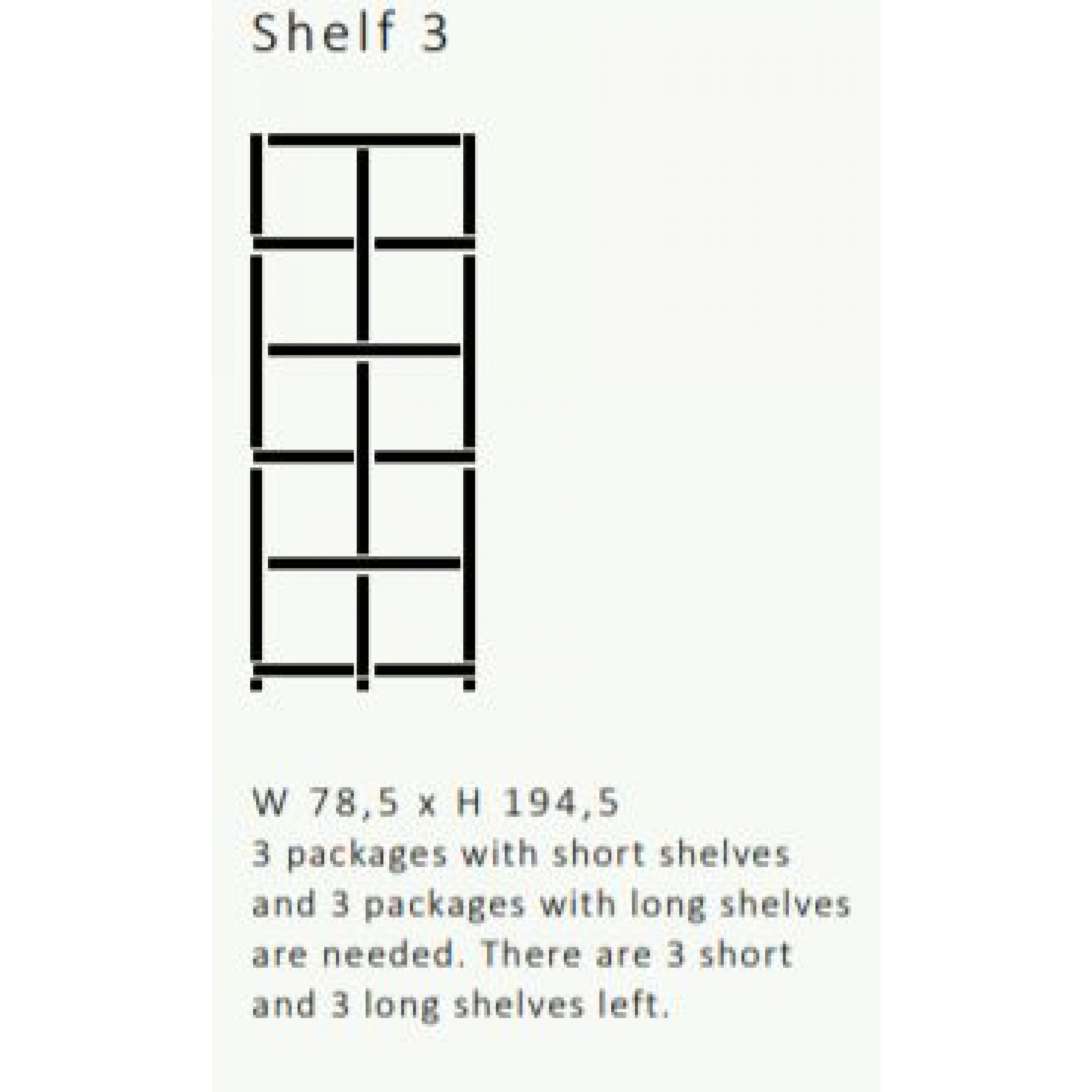 Shelving System 355 Version 3 | Beech Wood