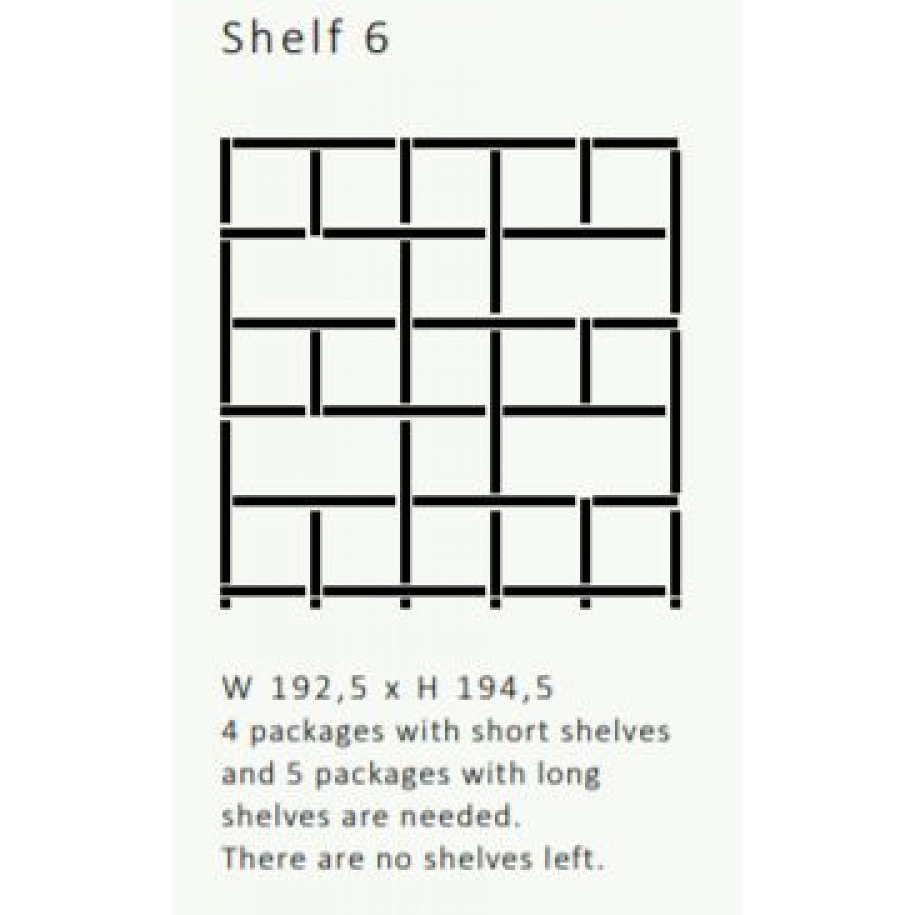 Shelving System 355 Version 6 | Beech Wood