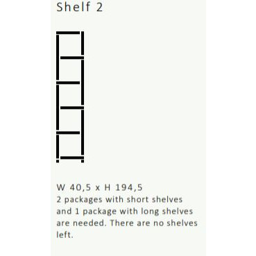 Shelving System 355 Version 2 | Walnut Wood