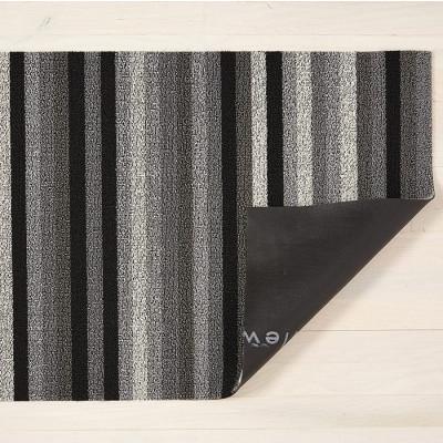 Fußmatte Shag Even Stripe 46 x 71 cm | Mineral