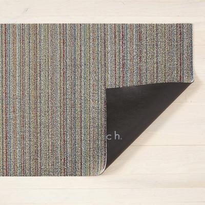 Fußmatte Shag Skinny Stripe 46 x 71 cm | Soft Multi