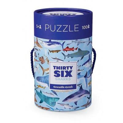 100 Pieces Puzzle | Sharks
