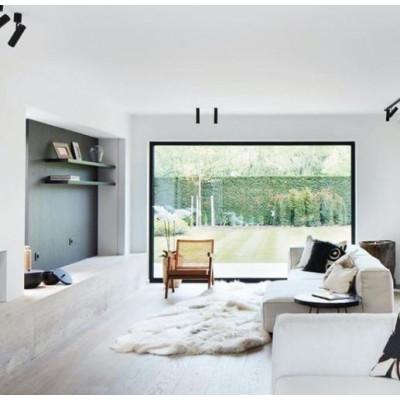 Schafsfell-Teppich-Patchwork   200 x 150 cm   Weiß