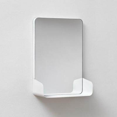 Spiegel mit Regal SHELF | Weiß