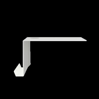 SHELVE02 W. FELT | Weiß links