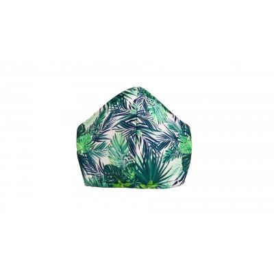 Schutzmaske M16 | Grüne und Blaue Blätter