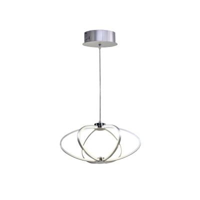 Silver LED Suspension | Shine 1