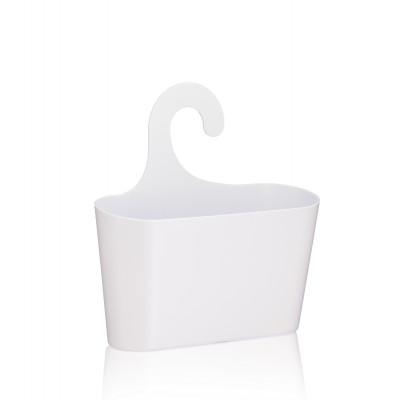 Korb mit Haken Maggy | Weiß
