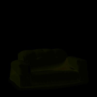 2-Sitzer-Sofa Hippo OUT | Weiß