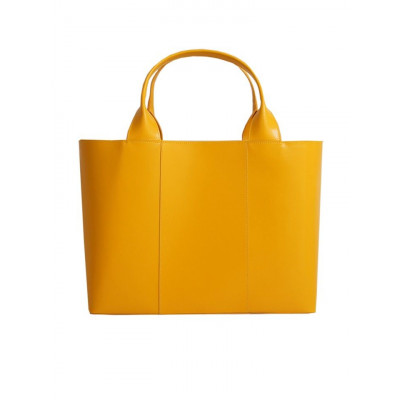 Einkaufstasche Gelbgold