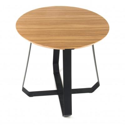 Shunan Table   Black & Wood