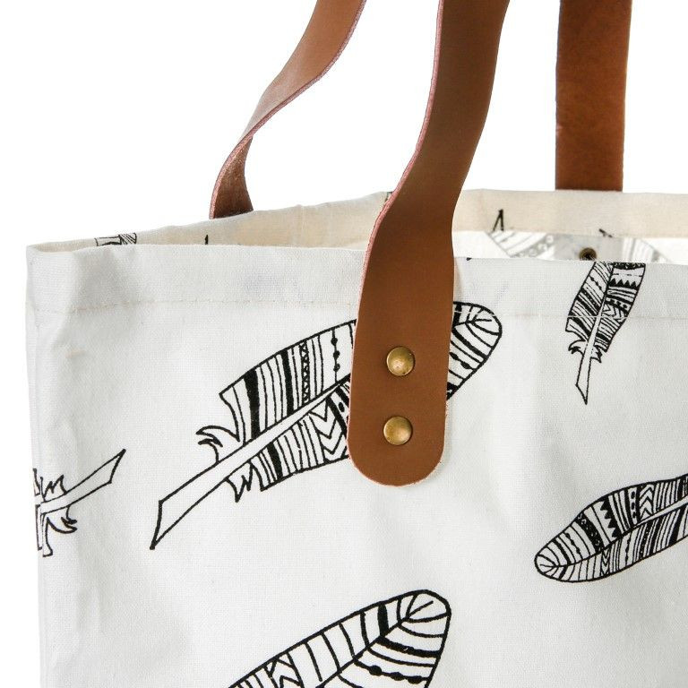 Shopping Bag Feathers
