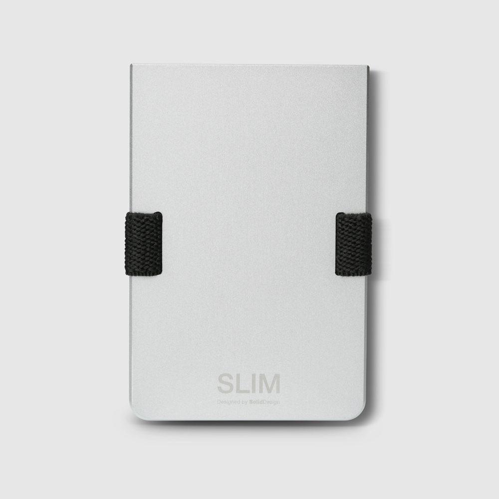 Portemonnaie Slim   Silber