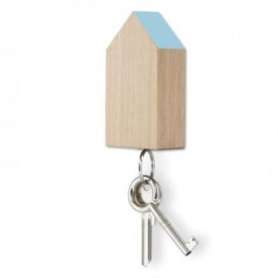Magnetisches Schlüsselhaus | Hellblau