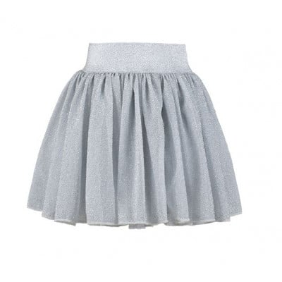 Party Skirt   Silver Sparkle