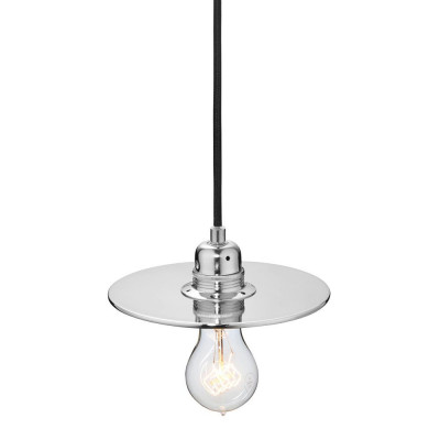 Flat One 182 Lamp | Silver