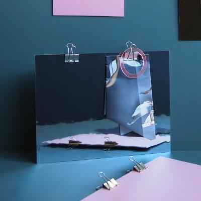Play Clipboard | Mirror/White