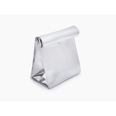 Lunch Bag   Silver