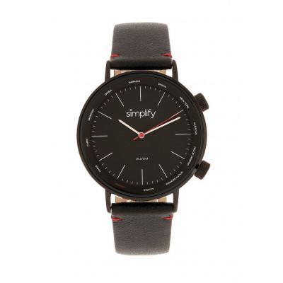 Watch The 3300 | Black & Black Genuine Leather