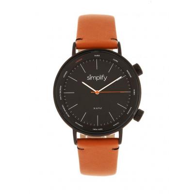 Watch The 3300 | Black & Orange Genuine Leather