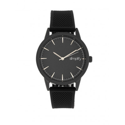 Watch The 5200 | Black & Black Silicone