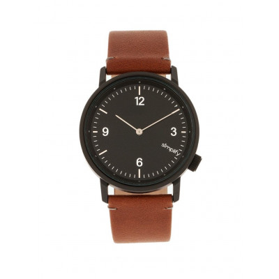 Watch The 5500 | Black & Brown Genuine Leather