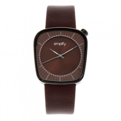 Watch The 6800 | Black & Brown Genuine Leather