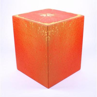 Auf allem Würfel sitzen | Orange