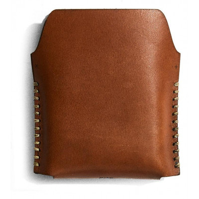 Single Leather Playing Card Case