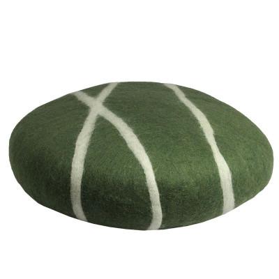Kissen Sirani Stone XL   Grün/Weiß