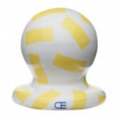 SIRI Ceramic Mirror 37 round | Yellow