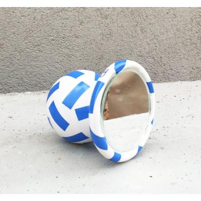 SIRI Ceramic Mirror 37 round | Blue