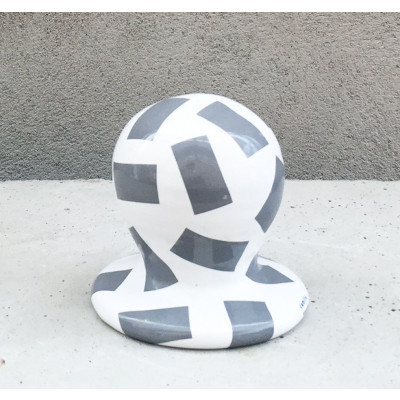 SIRI Ceramic Mirror 37 round | Grey