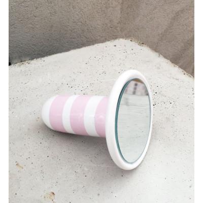SIRI Ceramic Mirror 38 tall | Pink